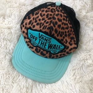 Vans • Hat • Blue • Animal Print